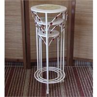 Metal Sehpa 3Lü Yuvarlak Flower-136822