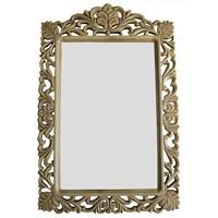Lüks Motifli Ayna Büyük 2013-913 Gold