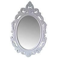 Motifli Ayna Oval 65 Cm