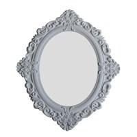 Motifli Ayna 28-001 Beyaz