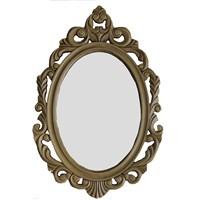 Motifli Ayna 27-001 Gold