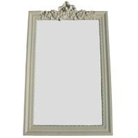Motifli Ayna Lüks 101-001 Krem