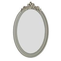 Motifli Ayna 38-001 Krem