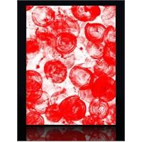 Kırmızı Kanvas Tablo