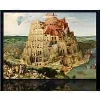 Babil Kulesi Kanvas Tablo