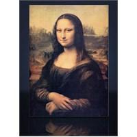 Mona Lısa Kanvas Tablo
