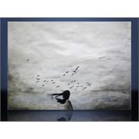 Kuşlar Kanvas Tablo
