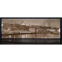 İstanbul Eminönü Siyah Beyaz Kanvas Tablo