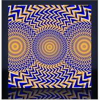 Optik Göz Yanılması Kanvas Tablo