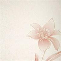Çiçek Pembe Vinyl Duvar Kaplaması