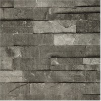 Taş Siyah Vinyl Duvar Kaplaması
