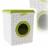 Kare Hasır Deterjan Kutusu Yeşil
