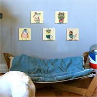 Dekoratif Çocuk Tablo Mtb015