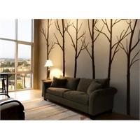 Bestasticker Kış Ağaçlar Sticker