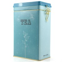 Blue Tea Metal Kutu