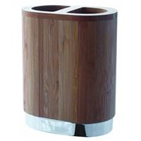 Hafele Bamboo Diş Fırçalık,Krom Kaplama Parlak, 2'Li