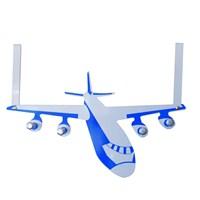 Uçak Şekilli Kapı Askısı 1