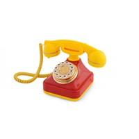 Anna Bell Sarı Kırmızı Klasik Tuşlu Telefon 3
