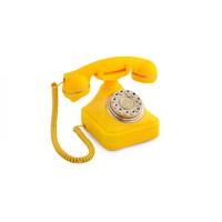Anna Bell Sarı Tuşlu Klasik Telefon