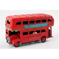 Çift Katlı Klasik Londra Otobüsü