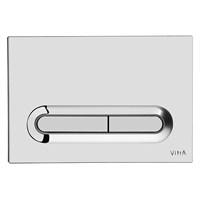 Vitra Loop T Kumanda Paneli-Parlak Krom