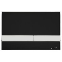 VitrA Select Kumanda Paneli - Siyah Cam/Krom Buton