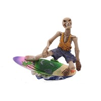 Sörf Yapan Kuru Kafa Figürlü Biblo