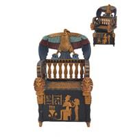 Antik Mısır Tahtı Figürlü Biblo