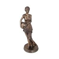 Eski Romalı Kadın Figürlü Biblo