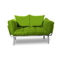 Kombin Kanepe - Metal - Yeşil -Yeşil