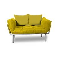 Kombin Kanepe - Metal - Sarı -Sarı