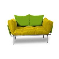 Kombin Kanepe - Metal - Sarı -Yeşil