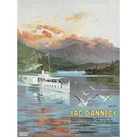 Metal Poster - Lac D'annecy-Hugo D'alesı 15X20cm.