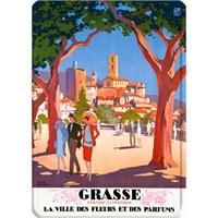 Metal Poster - Grasse - Broders 15X20cm.