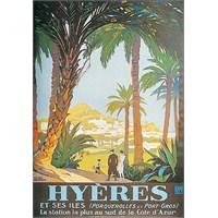 Metal Poster - Hyeres - Broders 15X20cm.
