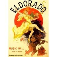 Metal Poster - Eldorado 15X20cm.