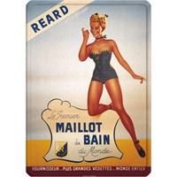 Metal Poster - Maıllot De Baın Reard 15X20cm.
