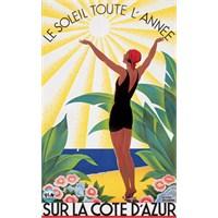 Metal Poster - Soleıl Toute L'annee - Broders 30X4