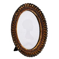 Baroque Gold Cerceve Oval