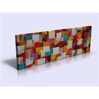 Arte Abstract Renkler Kanvas Tablo
