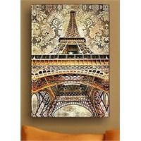 Eiffel Baroque Kanvas Tablo
