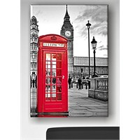Red Box Kanvas Tablo