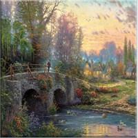 Köprü Kanvas Tablo