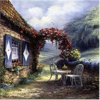 Pencere Kanvas Tablo