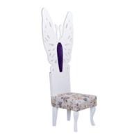 3A Mobilya Madam Butterfly Sandalye - Beyaz
