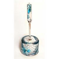 Figürlü Sulu Oval Lüx Tuvalet Fırçası-Dc40