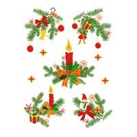 D-C-Fix Spirit Static Christmas 42,5 X 32,5 Cm Duvar Sticker