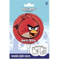 Angry Bırds Kendin Şişir Folyo Balon Paketli