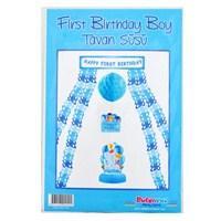 First Birthday Boy Tavan Süsü