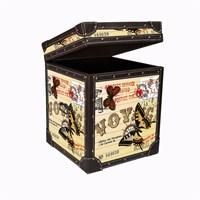 Dekorjinal Vintage Sehpa + Sandık Str43